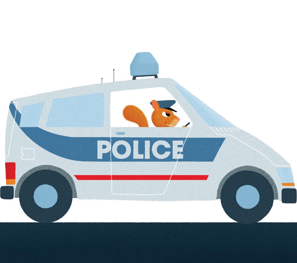 EN VOITURE - voiture de police- PHILIPPE JALBERT