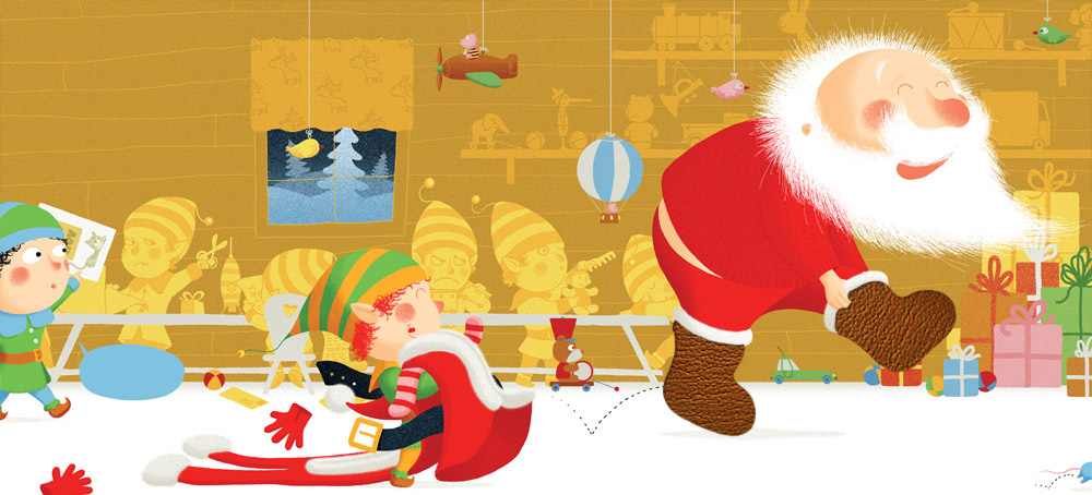 atelier des lutins du père Noël