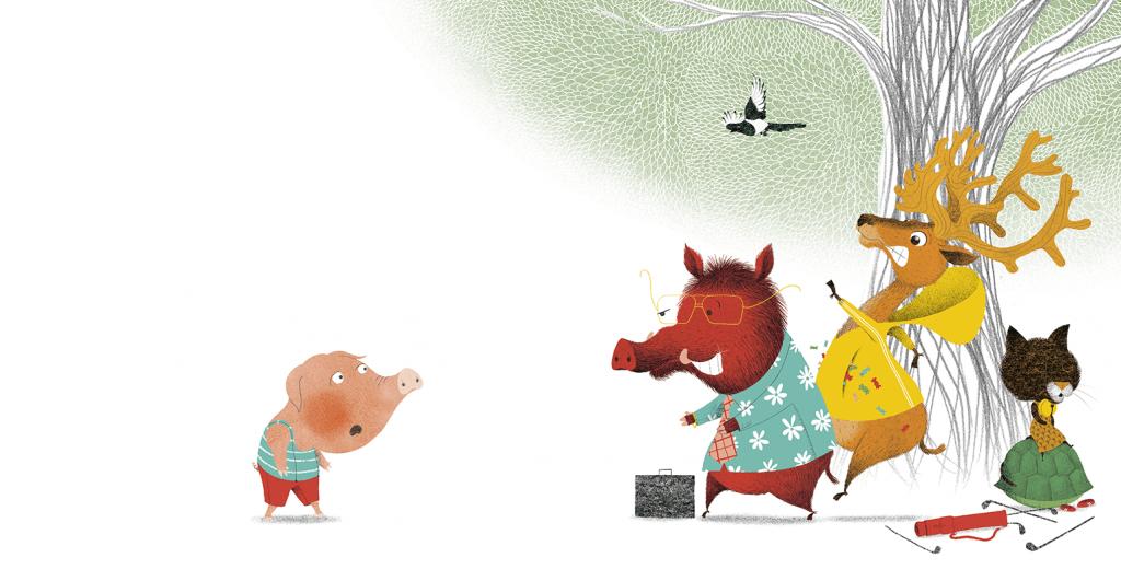 cochon a un secret