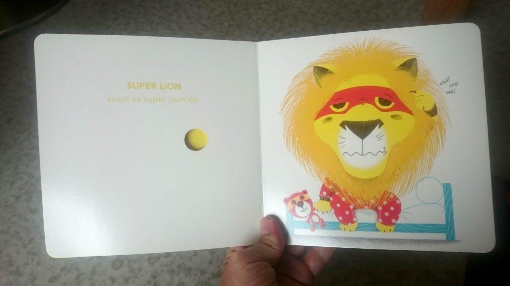 SUPER LION ET LES COULEURS 01