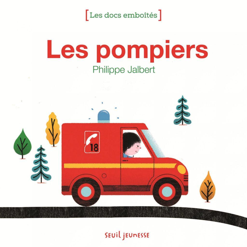Le camion de pompiers livre documentaire à destination des tout petits